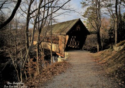 New England College Covered Bridge, Henniker