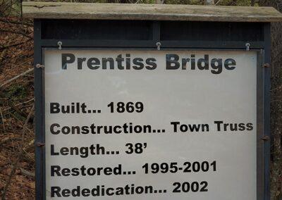 Prentiss Covered Bridge, Langdon